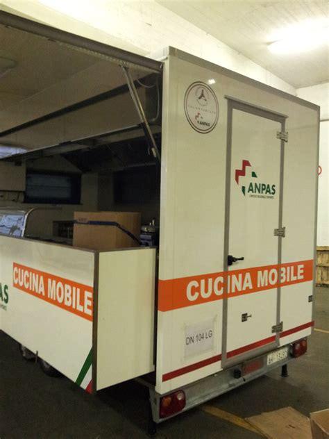 cucina mobile anpas raccolti 4 110 per l allestimento della cucina