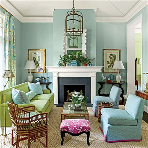 southern living living room ideas a lighter touch decorating with pastels