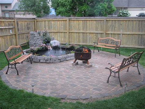 Built In Firepit Deck With Built In Pit Pit Design Ideas
