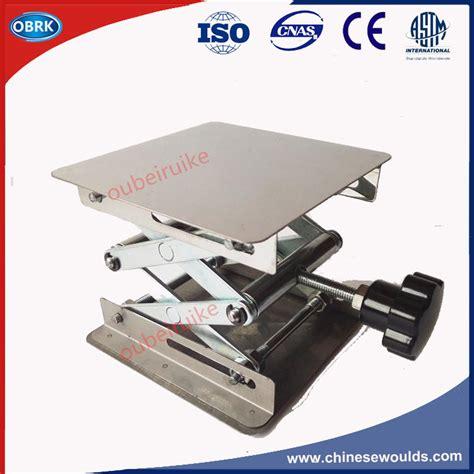 manual lift table rental laboratory stainless steel manual adjustable scissor lift