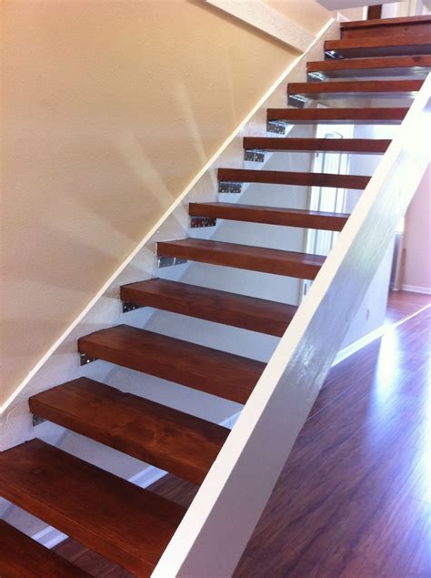 stairs wood newsonair org nice floating stair kits 10 floating wood stairs