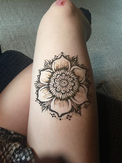 henna tattoo design idea flower henna henna flower henna