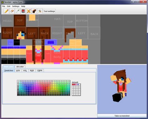 pc themes maker software free download minecraft skin editor installieren minecraft skin editor