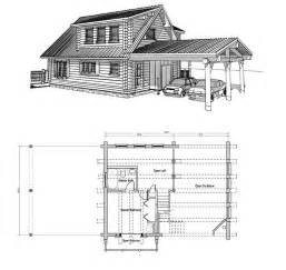 log house floor plans with loft home design and style