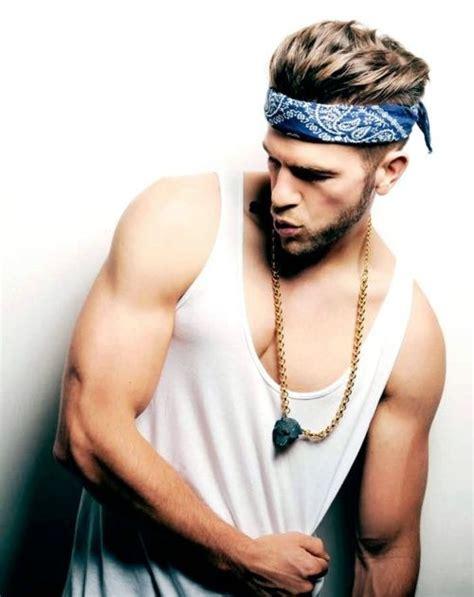 mens hairstyles with skinny headbands 51 best bandana headband for men images on pinterest man