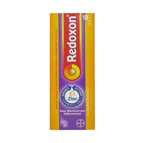 Diskon Redoxon Isi 10 Vitamin C Zinc jual daily deals bayer redoxon eff blackcurrant