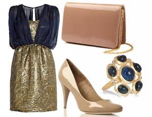 Accessorise all areas: Three ways to wear navy and gold   Daily Mail Online