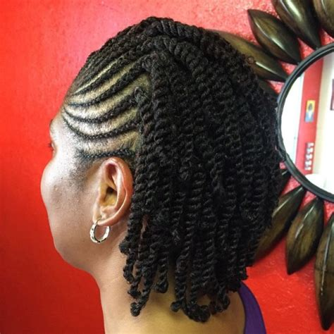 easy cornrow updos front and back 50 easy and showy protective hairstyles for natural hair