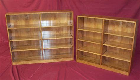 hardwood bookshelves custom bookcases charles r bailey cabinetmakers handcrafted solid wood