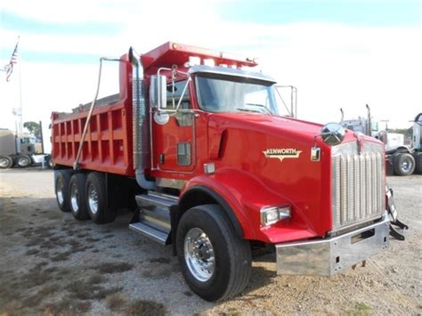 2008 kenworth truck 2008 kenworth t800 dump trucks for sale 44 used trucks