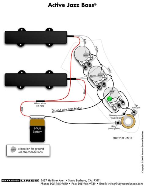 fender precision bass active wiring diagram circuit and