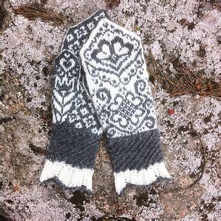 english knitting pattern for mittens 10 best images about knitting patterns stickm 246 nster av