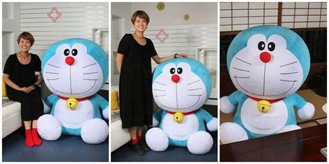 Boneka Doraemon Karakter pagimorning