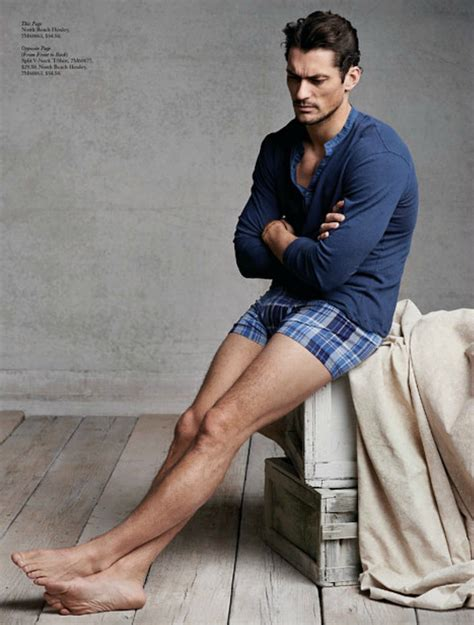 Chris Noth Sexless In The City At Bruno Jamais by David Gandy Embraces Casual Styles For Lucky Brand S April