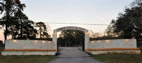 news mcnutt funeral home on conroe memorial cemetery is in