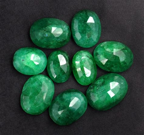buy 152 00 ct certified emerald gemstone lot buy