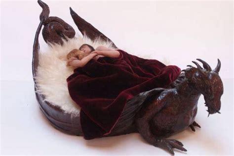 Cool Bedroom Ideas dragon bed action fantasy horror paranormal scifi