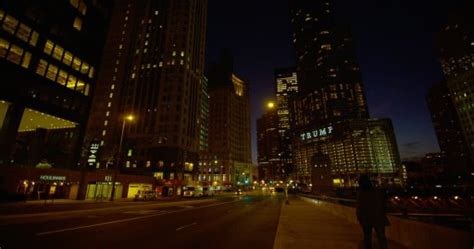 trump tower gold pan up stock video footage 9571267 magnificent mile downtown chicago usa 4k stock
