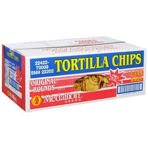 Tortila Bag tortilla chips 2 3lb bags