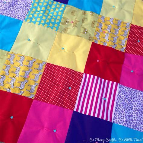 Rainbow Patchwork - rainbow patchwork baby quilt hello hooray