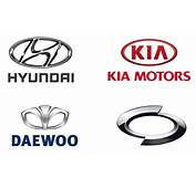 Korean Car Brands Names  List And Logos Of Cars