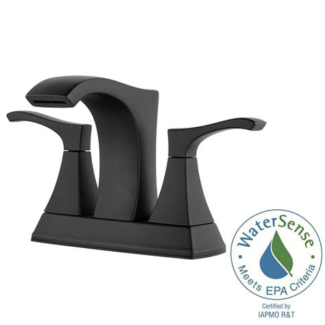 Statement Ceiling Fans by Pfister Venturi 4 In Centerset 2 Handle Bathroom Faucet