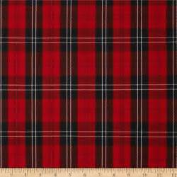Buffalo Check Curtains Red Polyester Uniform Plaid Red Black White Discount