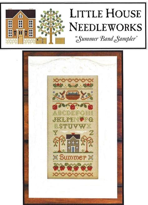 cross stitch pattern house rules quot summer band sler quot 112 cross stitch pattern little