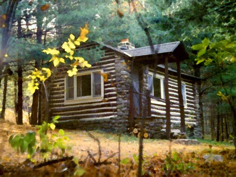 How Does Cabin In The Woods End by Some Place Simple I Would Like To Live In Log Cabin