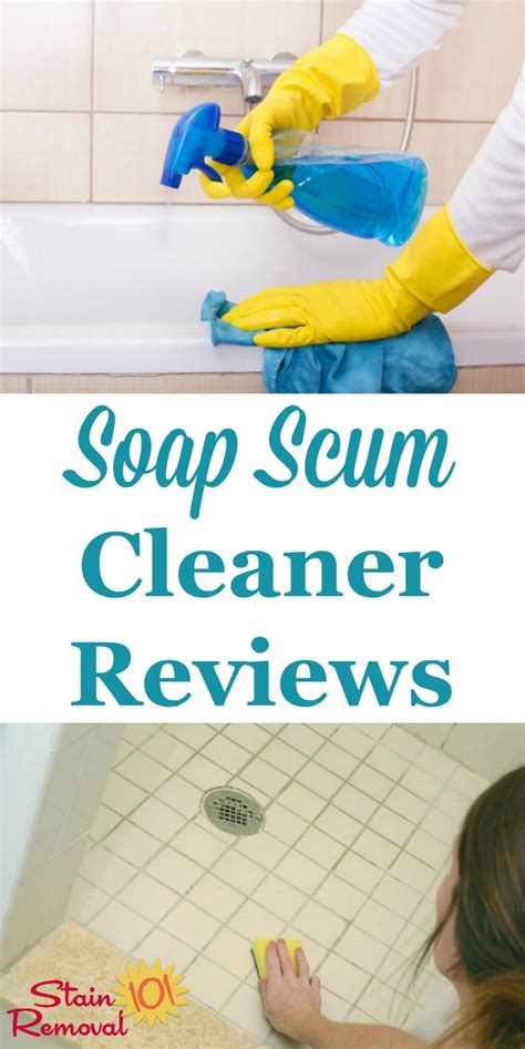 best product for soap scum on shower doors soap scum cleaner reviews which products work best