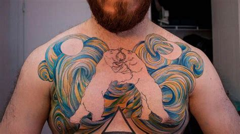 chest tattoo exles 12 striking exles of chest tattoos for men lifedaily