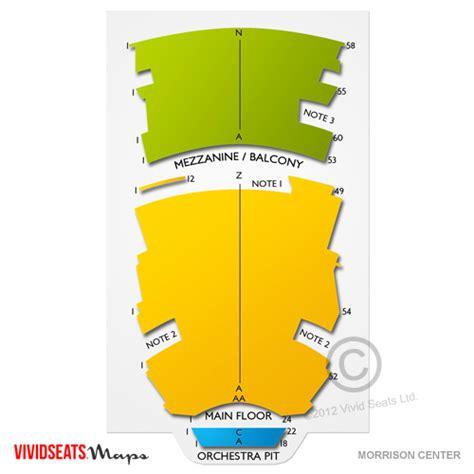 morrison center seating chart morrison center tickets morrison center seating chart