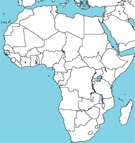 blank map of africa by abldegaulle45 on deviantart