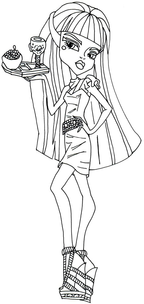 monster high avea trotter coloring pages free printable monster high coloring pages june 2014