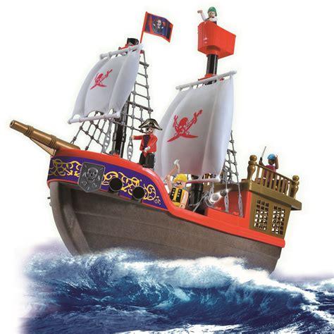 bootje speelgoed vinsani childrens playset kids pirate ship boat treasure