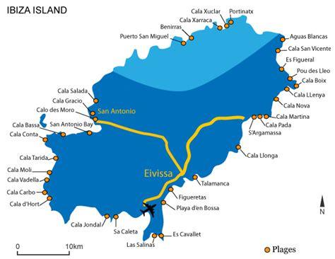 0004488962 carte touristique ibiza and quelques bonnes adresses pour se faire plaisir espagne