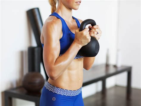 best ab exercises using weights popsugar fitness