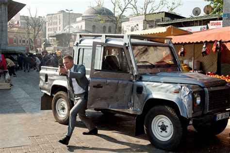 The Land Rovers Of James Bond Unsealed 4x4