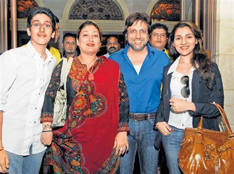 actor govinda family govinda family pic govinda photos fanphobia