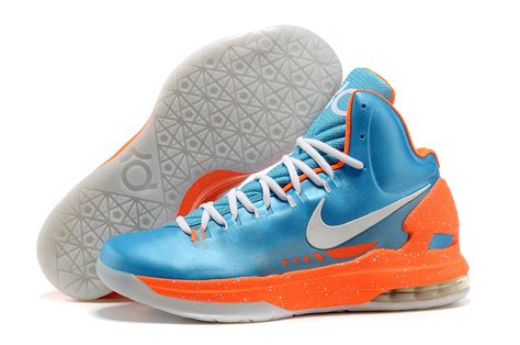 kevin durant basketball shoes nike kd v kevin durant basketball shoes jade blue orange