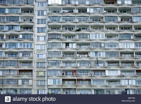 Germany Recycling Communist Housing Blocks Facade Communist Era Housing Block In Stock Photos Facade Communist Era Housing Block In Stock