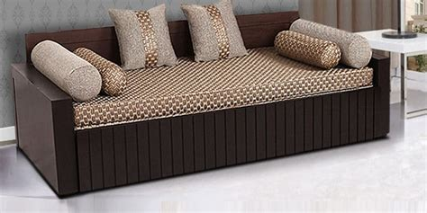 sofa cum bed designs pictures buy aster elegant sofa cum bed in walnut finish by arra