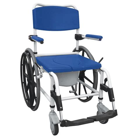 Used Commode Chair - maxiaids aluminum rehab shower commode chair with 24