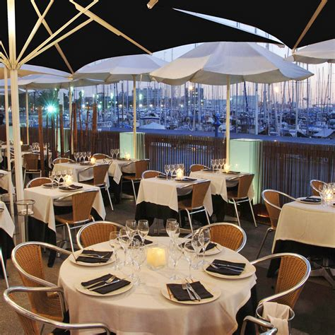 barcelona restaurant best waterfront restaurants in barcelona travel leisure