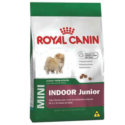 Royal Canin 8 Kg Puppy Mini Junior Gojek ra 231 227 o royal canin mini indoor junior para c 227 es filhotes petlove