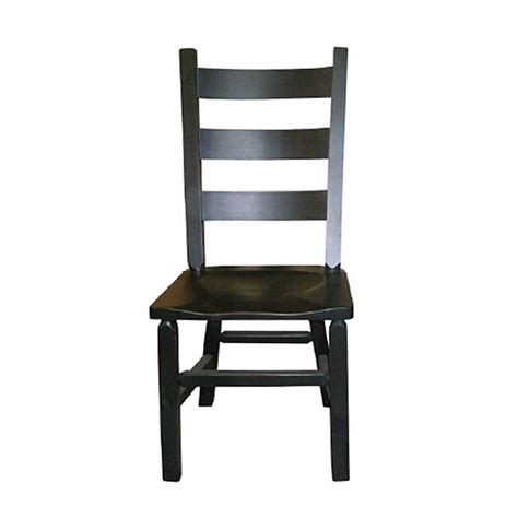 Mennonite Furniture by Rustic Ladder Back Side Chair Lloyd S Mennonite