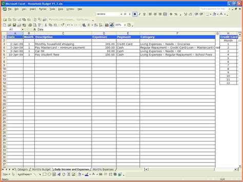 excel spreadsheets templates 9 monthly expense spreadsheet template excel