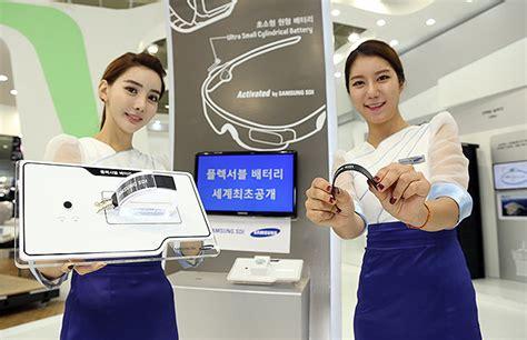 Wow Tv Samsung Bisa wow samsung punya baterai fleksibel dan bisa digulung