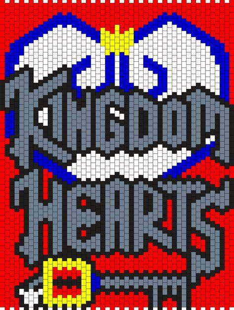 pattern kingdom kingdom hearts bead pattern peyote bead patterns misc