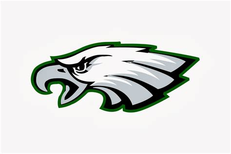 eagles logo coloring pages eagles logo coloring pages